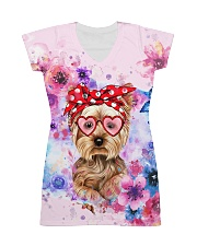 Yorkie Lover All-over Dress thumbnail