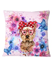Yorkie Lover Square Pillowcase thumbnail