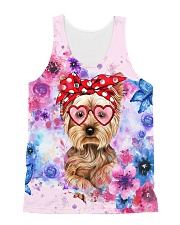 Yorkie Lover All-over Unisex Tank front