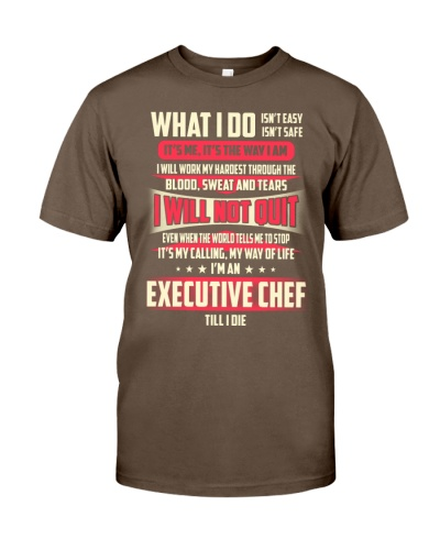 T SHIRT EXECUTIVE CHEF
