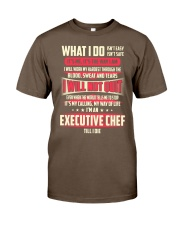T SHIRT EXECUTIVE CHEF Classic T-Shirt front