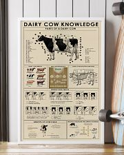 Dairy cow knowledge print poster 24x36 Poster lifestyle-poster-4