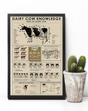 Dairy cow knowledge print poster 24x36 Poster lifestyle-poster-8