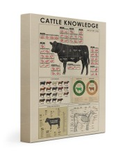 Cattle knowledge Art Canvas  Gallery Wrapped Canvas Prints tile