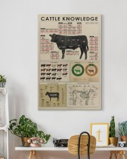 Cattle knowledge Art Canvas  20x30 Gallery Wrapped Canvas Prints aos-canvas-pgw-20x30-lifestyle-front-03