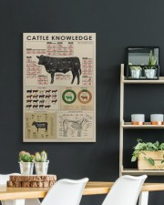 Cattle knowledge Art Canvas  20x30 Gallery Wrapped Canvas Prints aos-canvas-pgw-20x30-lifestyle-front-04