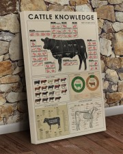 Cattle knowledge Art Canvas  20x30 Gallery Wrapped Canvas Prints aos-canvas-pgw-20x30-lifestyle-front-21
