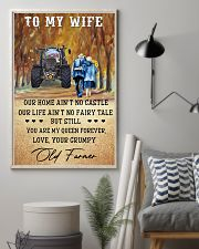 To my wife - your grumpy old farmer - Poster 24x36 Poster lifestyle-poster-1
