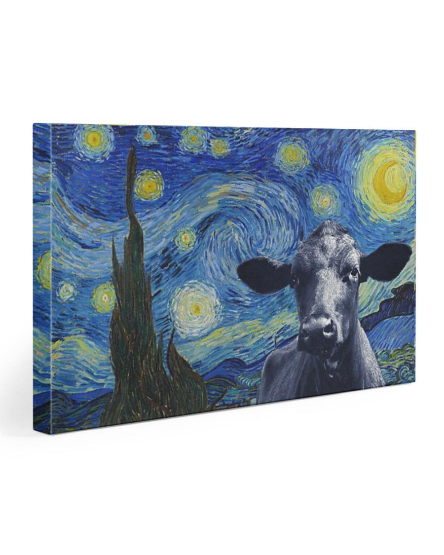 Van-gogh-painting angus black 30x20 Gallery Wrapped Canvas Prints