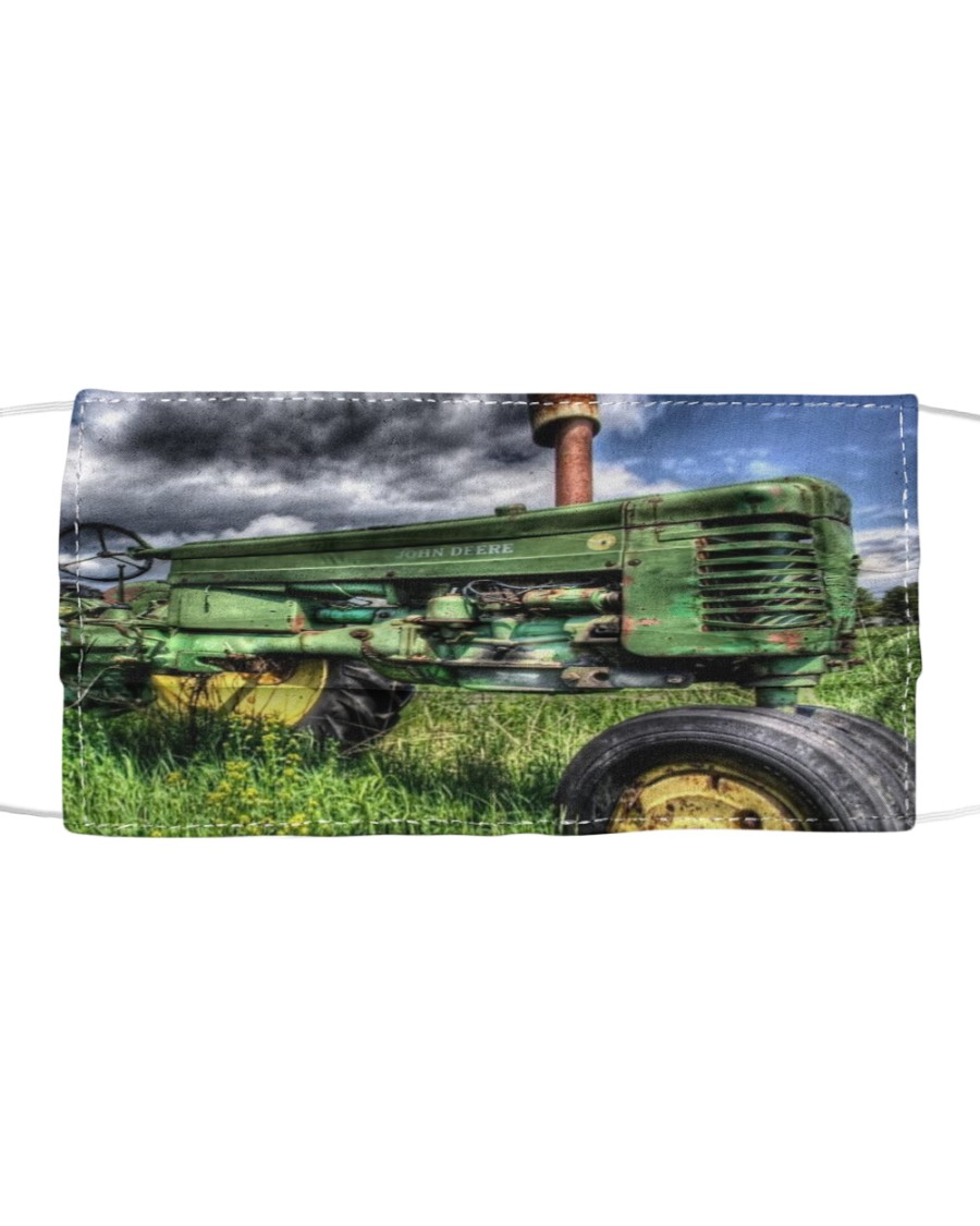 Tractor print  sk00005 Cloth face mask