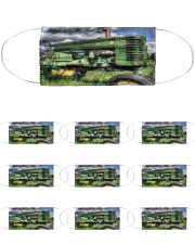 Tractor print  sk00005 Cloth Face Mask - 10 Pack front