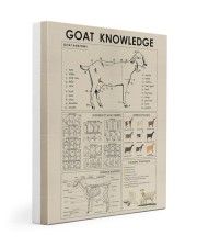Goat Knowledge print canvas and poster  Gallery Wrapped Canvas Prints tile