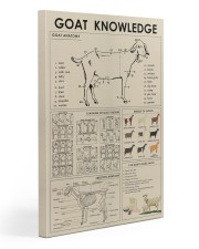 Goat Knowledge print canvas and poster  20x30 Gallery Wrapped Canvas Prints front