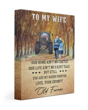 To my wife - your grumpy old farmer - Art Canvas  Gallery Wrapped Canvas Prints tile