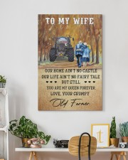 To my wife - your grumpy old farmer - Art Canvas  20x30 Gallery Wrapped Canvas Prints aos-canvas-pgw-20x30-lifestyle-front-03