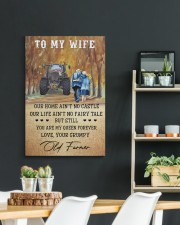 To my wife - your grumpy old farmer - Art Canvas  20x30 Gallery Wrapped Canvas Prints aos-canvas-pgw-20x30-lifestyle-front-04