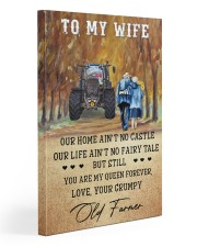 To my wife - your grumpy old farmer - Art Canvas  20x30 Gallery Wrapped Canvas Prints front