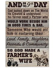 So God Made a Farmers Wife - poster 11x17 Poster front