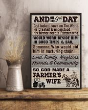So God Made a Farmers Wife - poster 11x17 Poster lifestyle-poster-3