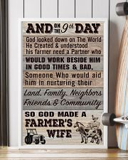 So God Made a Farmers Wife - poster 11x17 Poster lifestyle-poster-4