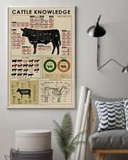 Cattle knowledge poster 24x36 Poster lifestyle-poster-1