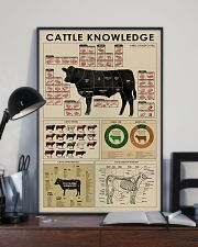 Cattle knowledge poster 24x36 Poster lifestyle-poster-2