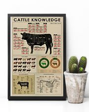 Cattle knowledge poster 24x36 Poster lifestyle-poster-8
