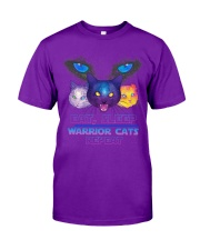 Eat sleep warrior cats repeat Classic T-Shirt front