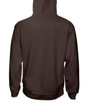 Eat sleep warrior cats repeat Hooded Sweatshirt back