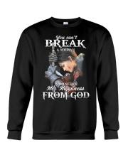 You can't break a woman   Crewneck Sweatshirt tile