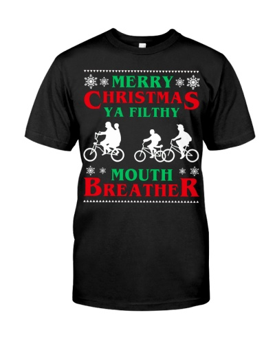 Stranger Thing Merry Christmas Moth Breather
