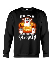 I'm so ready for halloween Crewneck Sweatshirt tile