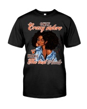 Only crazy sisters make the best aunts Classic T-Shirt front