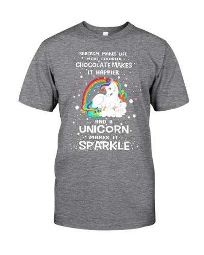 A Unicorn makes it sparkle