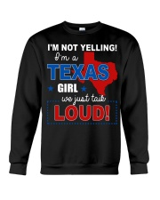 I'm a texas girl Crewneck Sweatshirt tile