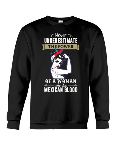 A woman who has mexican blood