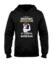 A woman who has mexican blood Hooded Sweatshirt thumbnail