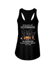 The black hat sisterhood Ladies Flowy Tank tile