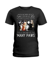 This is know as the many paws Ladies T-Shirt thumbnail