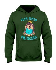 Plus sized princess Hooded Sweatshirt front