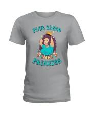 Plus sized princess Ladies T-Shirt front