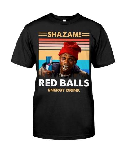 Shazam Red Balls Energy Drink