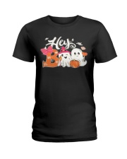 Hey Boo Ladies T-Shirt tile