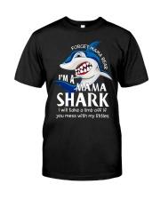 I'm a Mama Shark Classic T-Shirt front