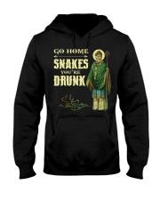 Go Home Snakes You're Drunk Hooded Sweatshirt tile