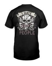 I'm a tatoo artist Classic T-Shirt back