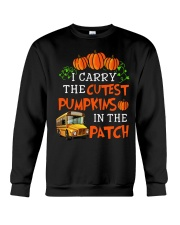 I carry the cutest pumpkins in the patch Crewneck Sweatshirt tile
