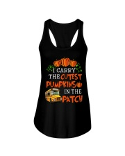 I carry the cutest pumpkins in the patch Ladies Flowy Tank tile