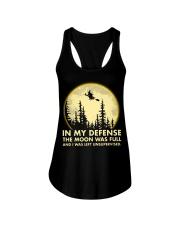 In my defense the moon was full Ladies Flowy Tank thumbnail