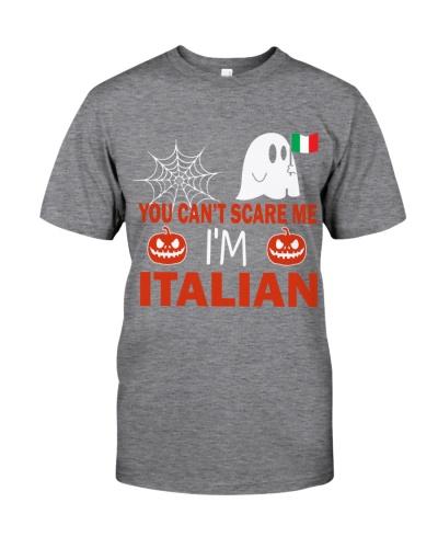 You can't scare me i'm Italian